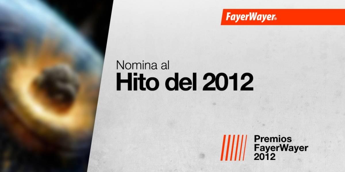 Nomina a tus candidatos para el Hito del 2012