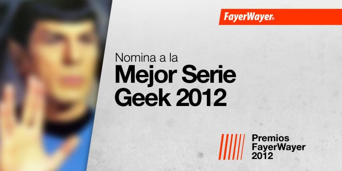 Nomina a tus candidatos para la Mejor Serie Geek 2012