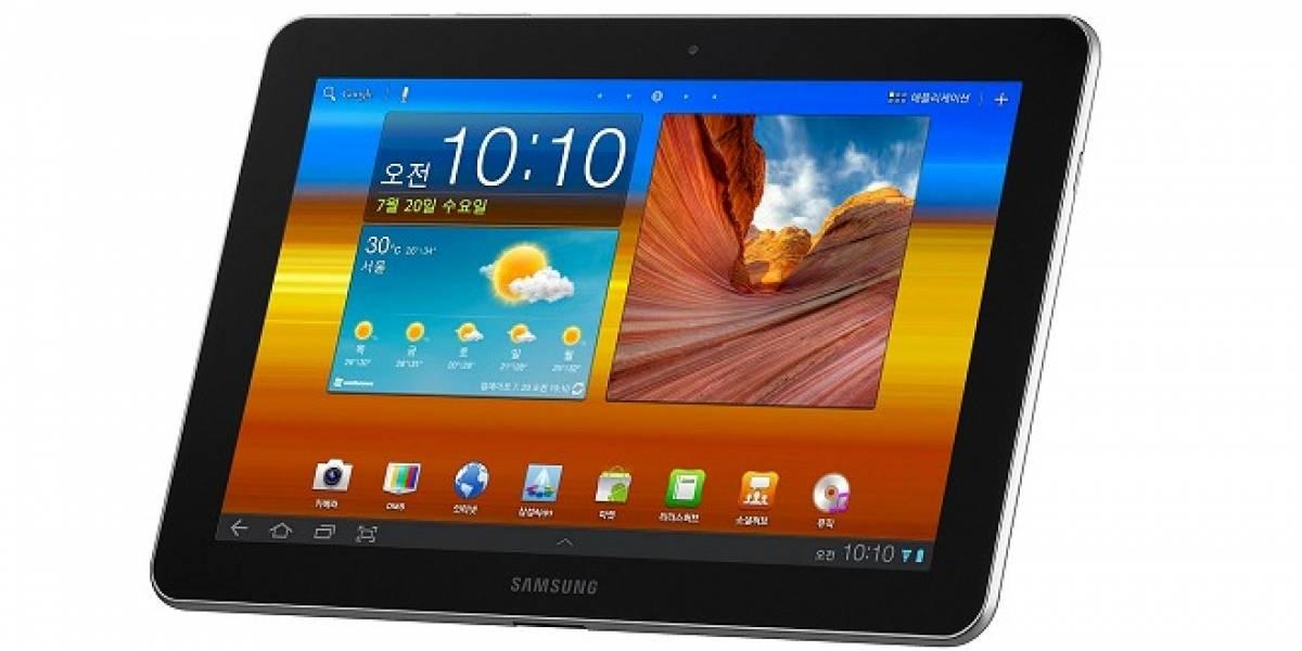 Samsung presenta el Galaxy Tab 10.1 en Chile [Lanzamiento]