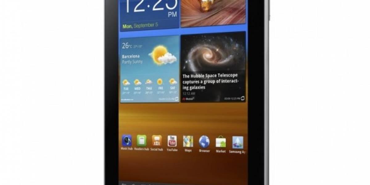 IFA11: Samsung presenta su Galaxy Tab 7.7 con Honeycomb 3.2