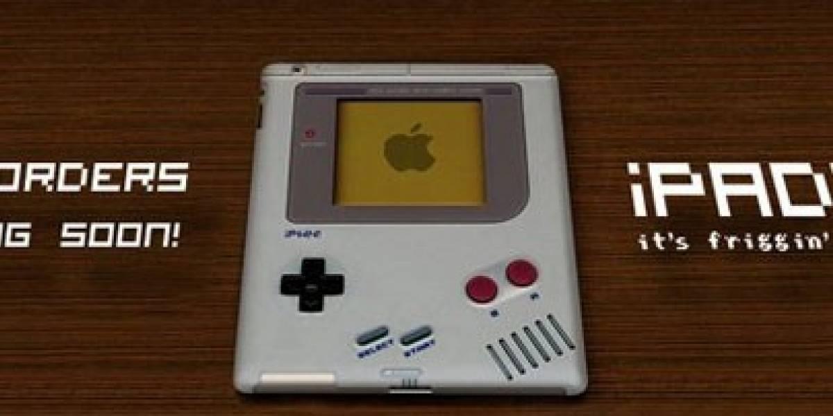 Disfraza tu iPhone e iPad 2 de Game Boy