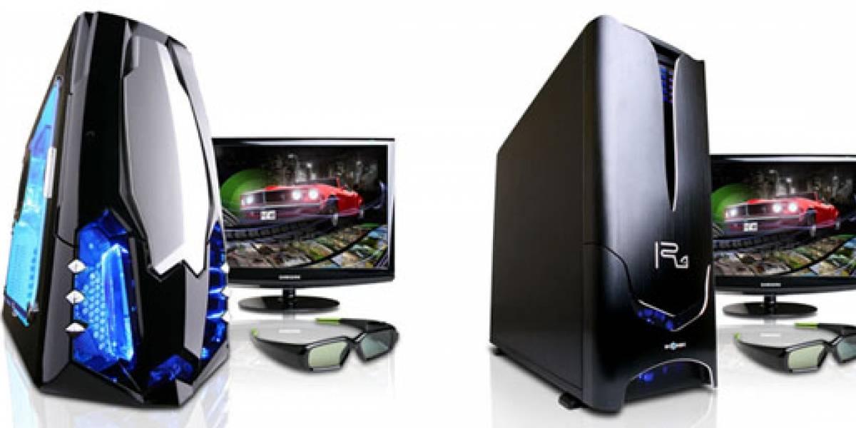 Gamer Xtreme 3D: Equipos con 3D Vision para jugadores extremos