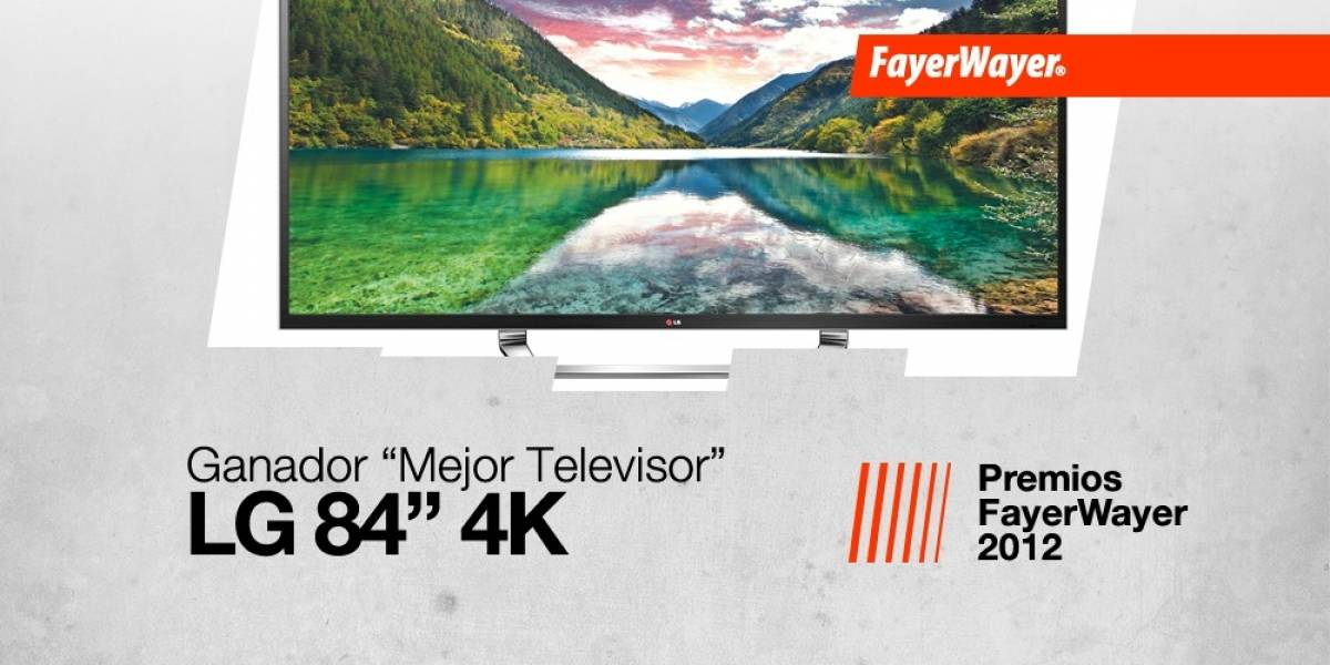 LG de 84 pulgadas, el Mejor Televisor 2012