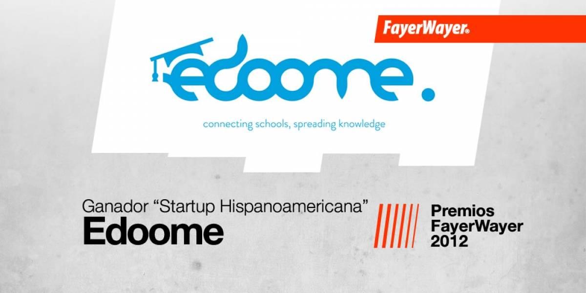 Edoome: La Startup Hispanoamericana del Año 2012