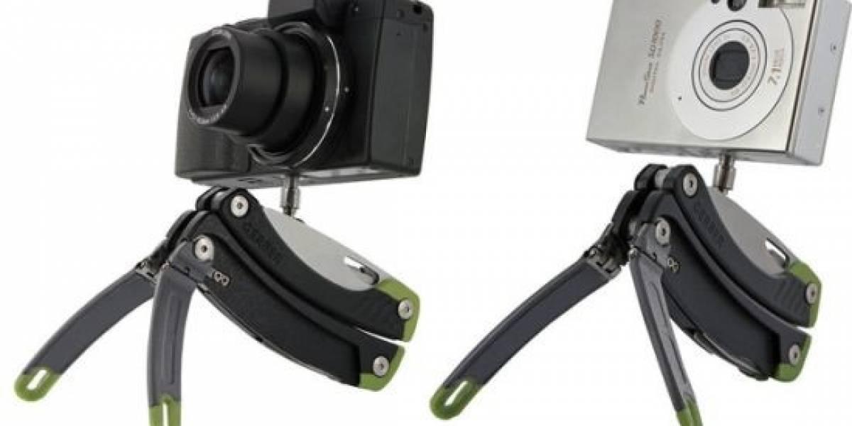 Este trípode multi-usos es perfecto para los móviles y cámaras casuales