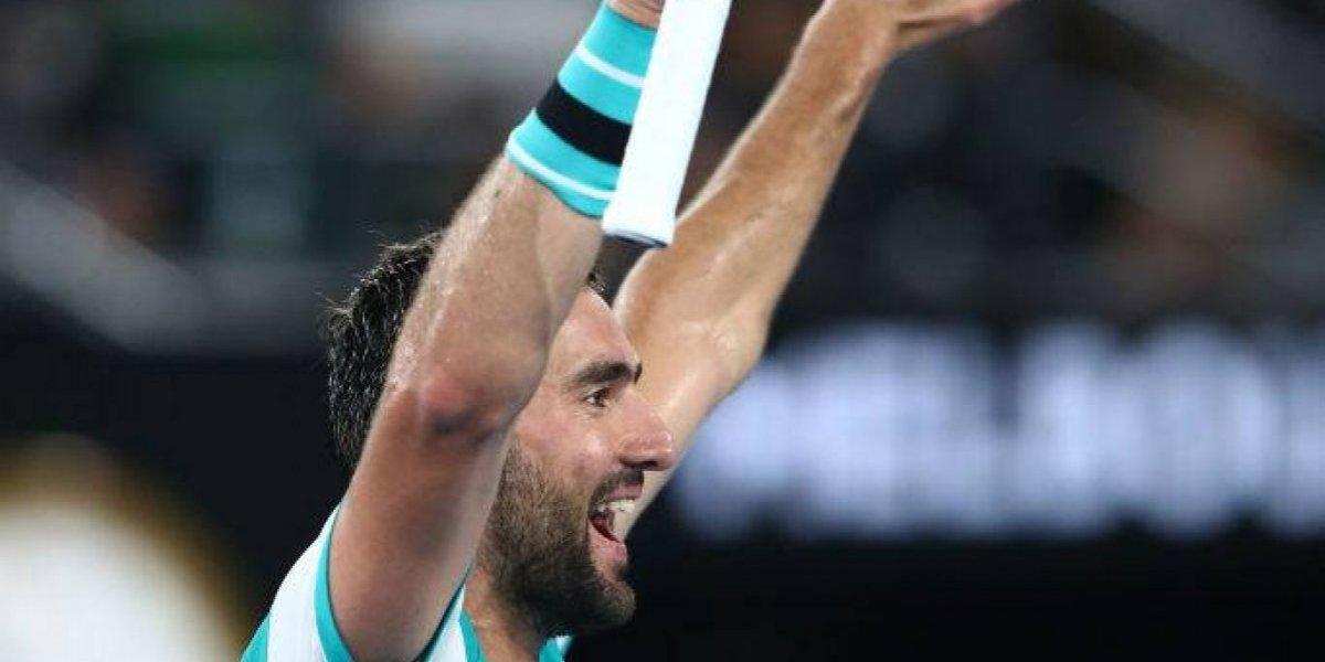 Abierto de Australia: Marin Cilic vence sin problemas y avanza a su tercera final de Grand Slam