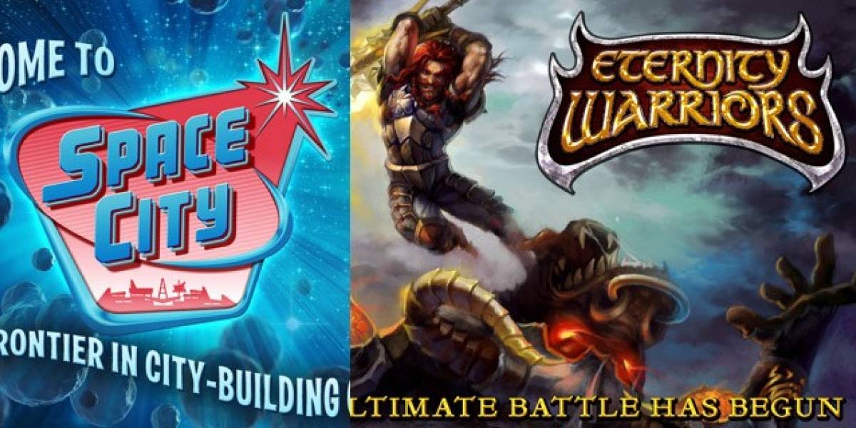 Glu lanza nuevos juegos: Space City y Eternity Warriors