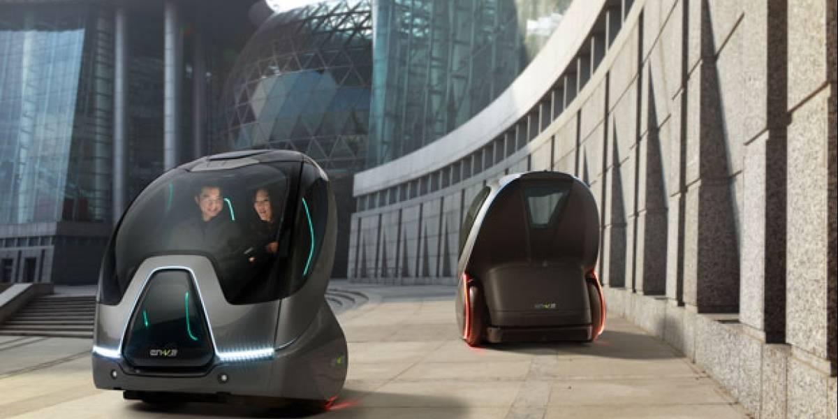 CES 2011: EN-V, un vehículo eléctrico autónomo