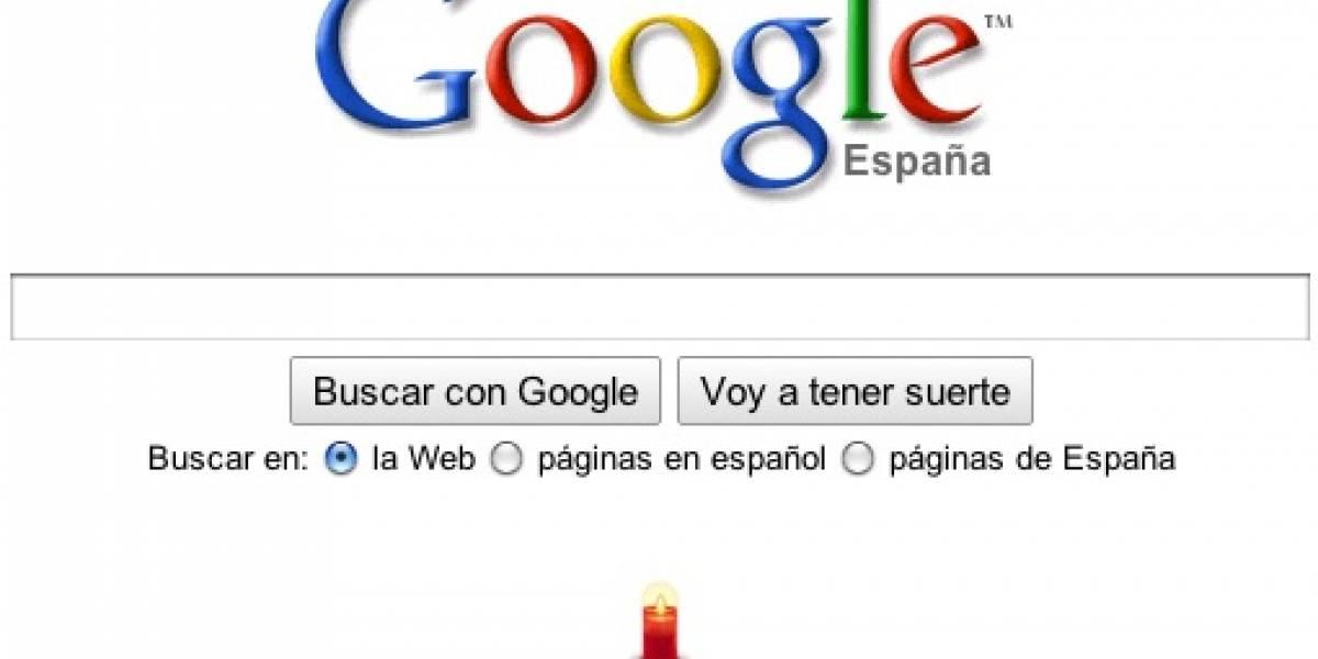 Google España recuerda, en silencio, los atentados del 11M