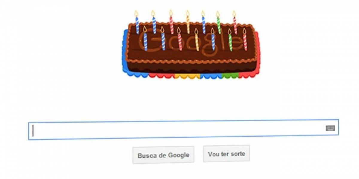 ¡Feliz cumpleaños, Google!
