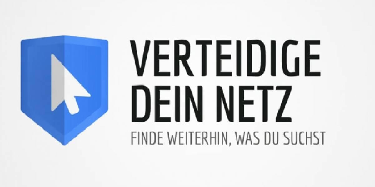 Google lanza campaña en Alemania para rechazar cobros por enlazar noticias