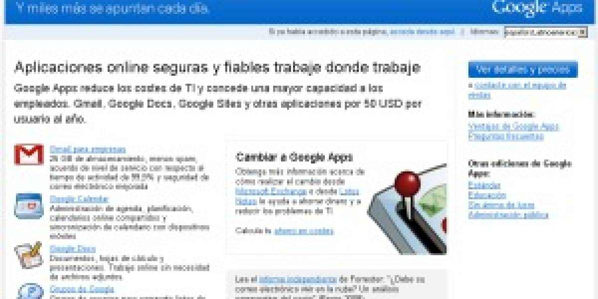 Google Apps aún no es una amenaza para Office