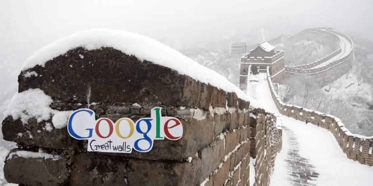 Google saca un pie de China