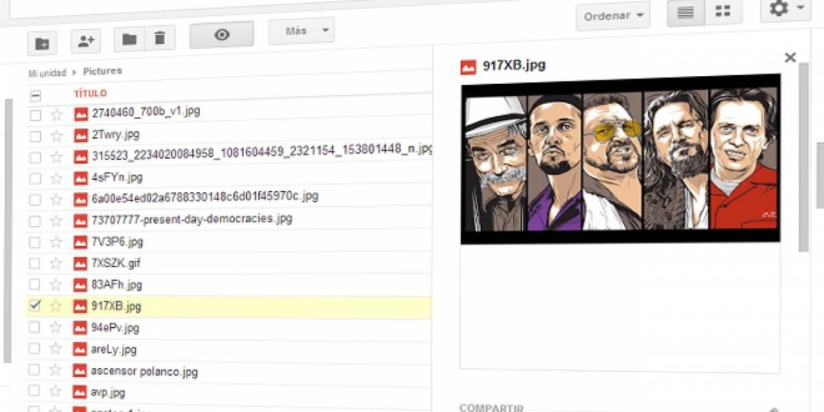 Google Drive ahora tiene vista previa y en Android realiza streaming de video