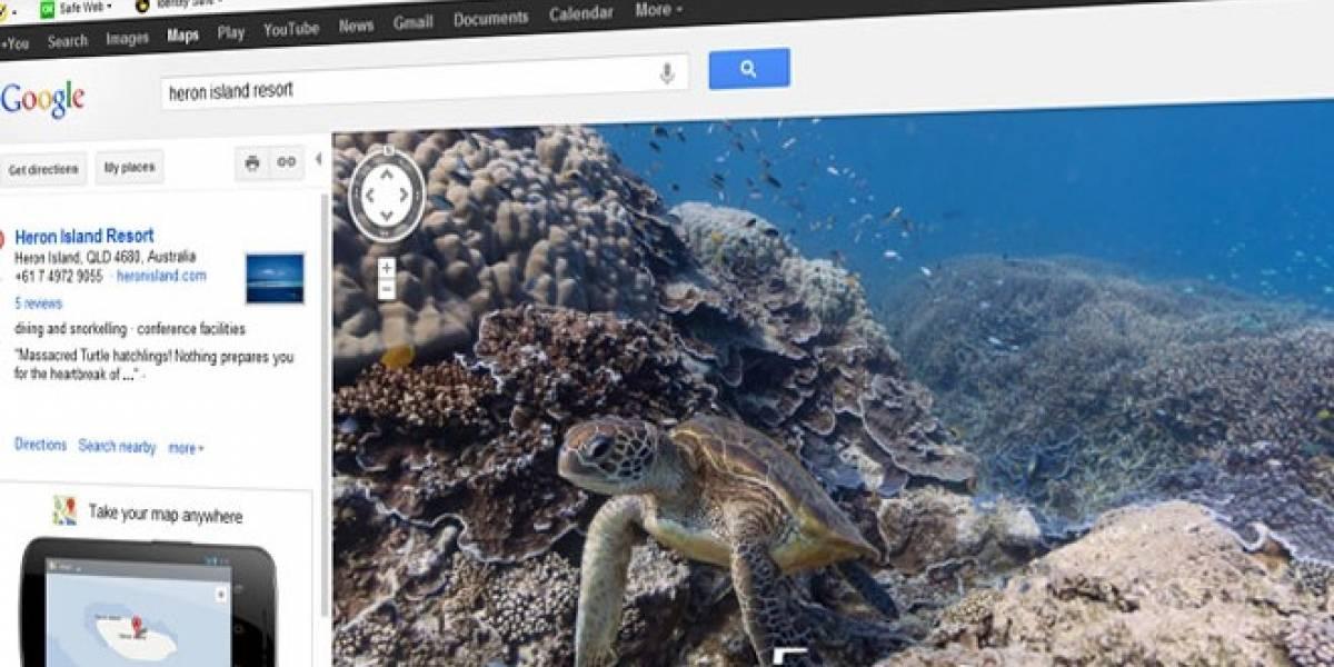 Google Maps nos invita a explorar el fondo del mar