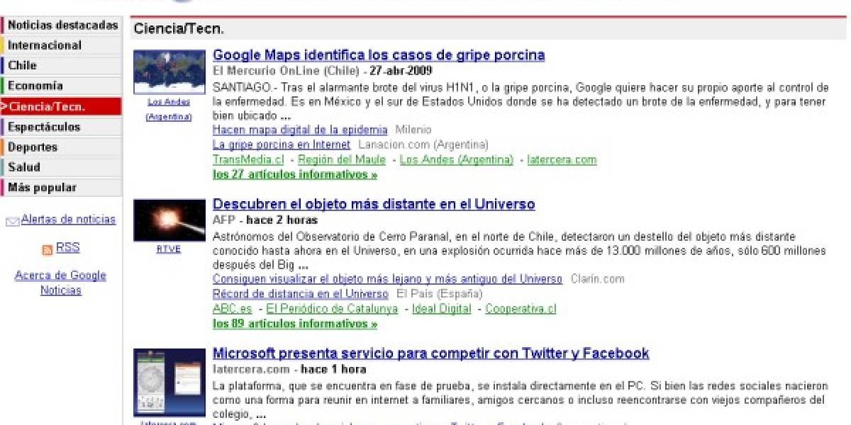 Futurología: Google News se renueva