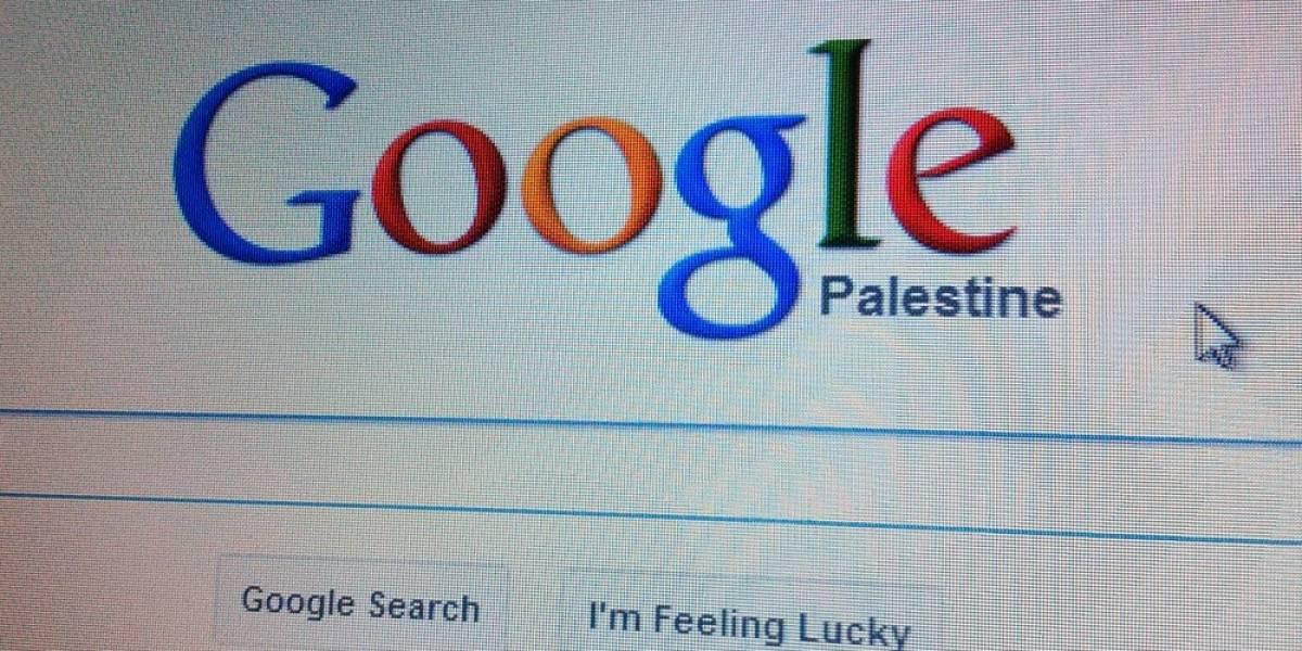 Google ahora reconoce al Estado de Palestina en todos sus productos