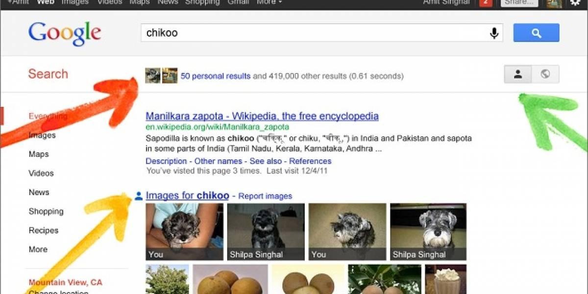 """Google lanza """"Your World"""", que personaliza las búsquedas usando Google+"""