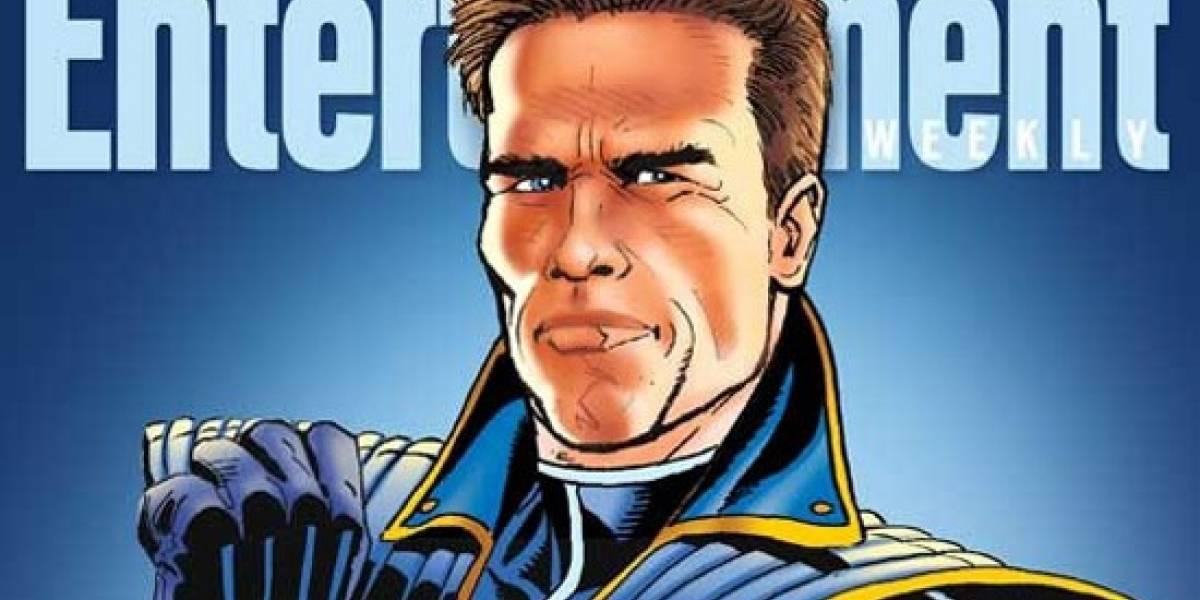 Schwarzenegger protagonizará su propio videojuego: The Governator
