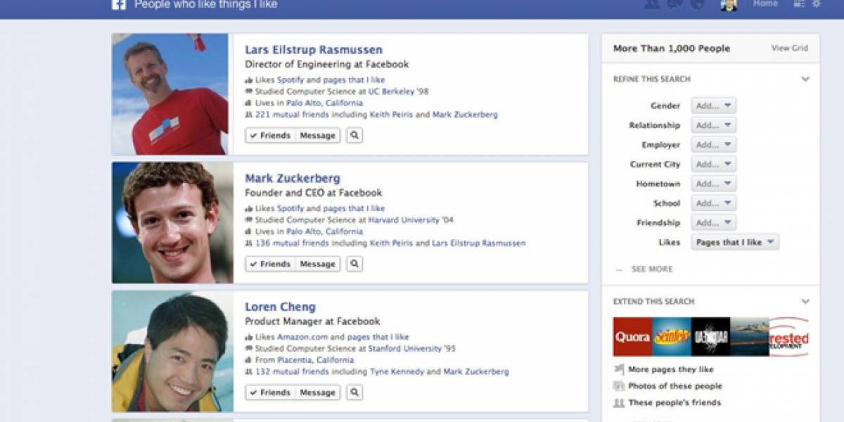 Facebook dice que le encantaría trabajar con Google pero Bing fue más flexible