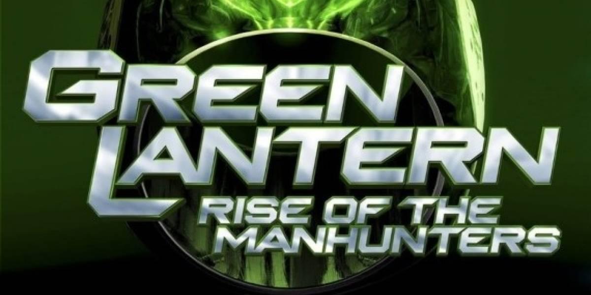 Una probadita de Green Lantern: Rise of the Manhunters