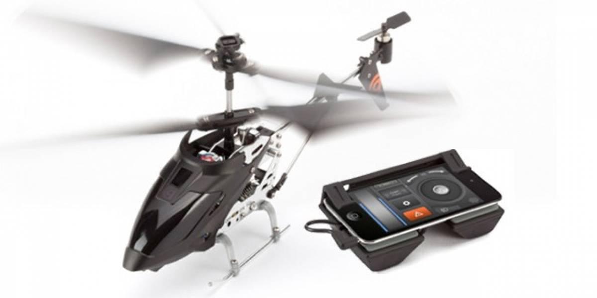Un helicóptero controlado desde tu iOS