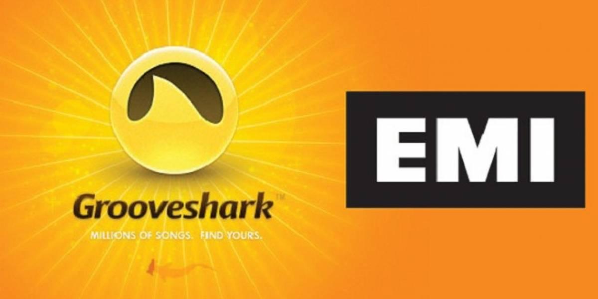 Grooveshark suma demanda de EMI y ahora está siendo amenazado por todos los grandes sellos