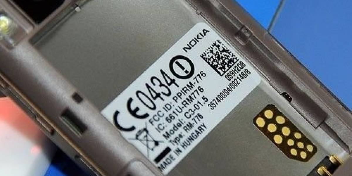 Se filtra el primer S40 con procesador de 1GHz: Nokia C3-01.5
