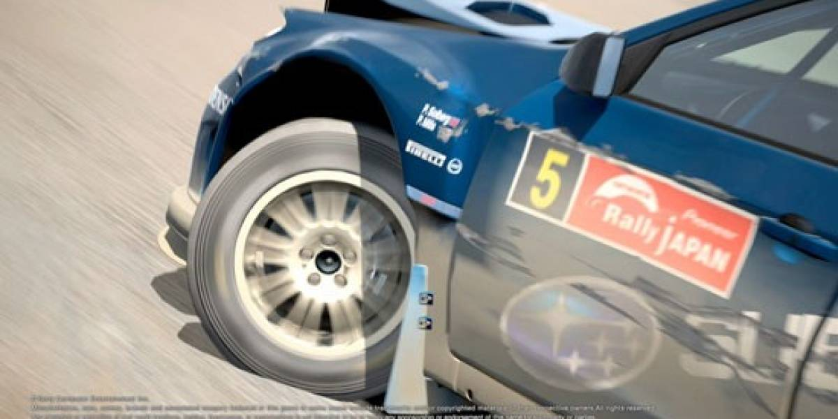 Ya está disponible el parche de daños para Gran Turismo 5
