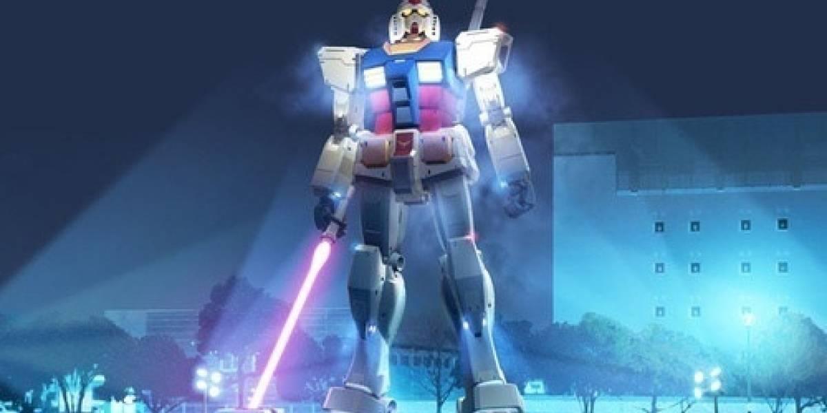 Japoneses instalarán otra estatua gigante de un Gundam