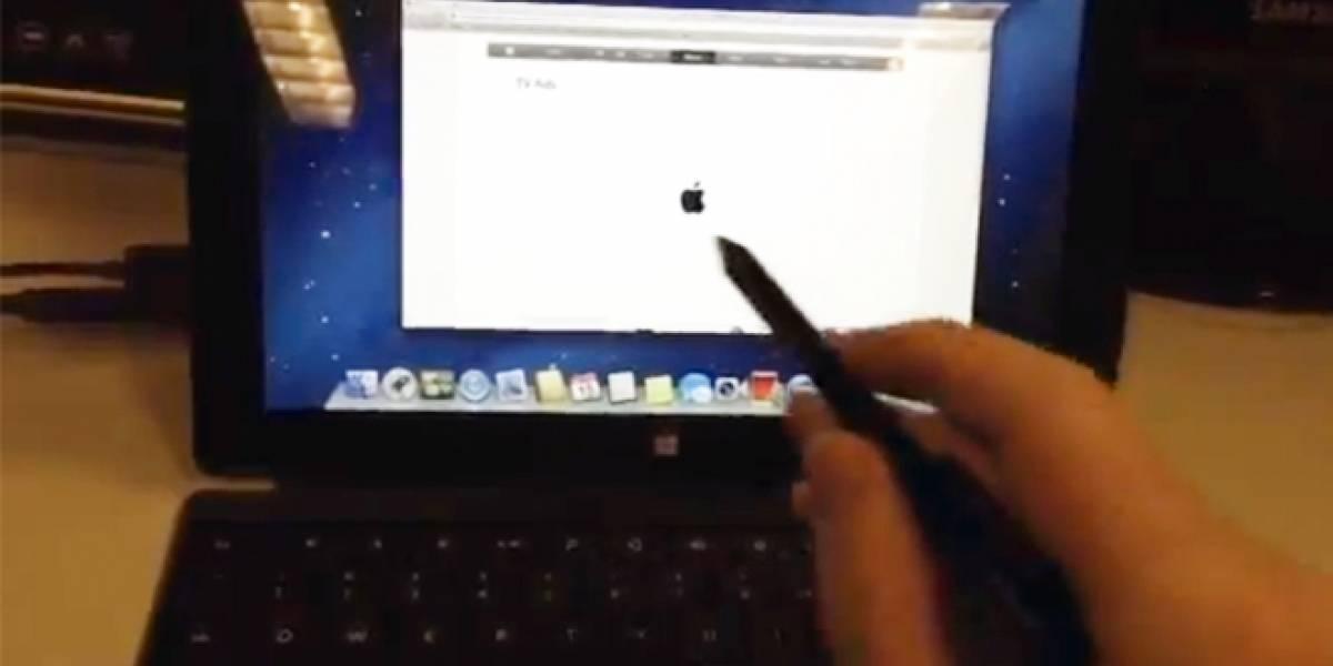 ¿Sistema operativo OS X corriendo en un Surface Pro?
