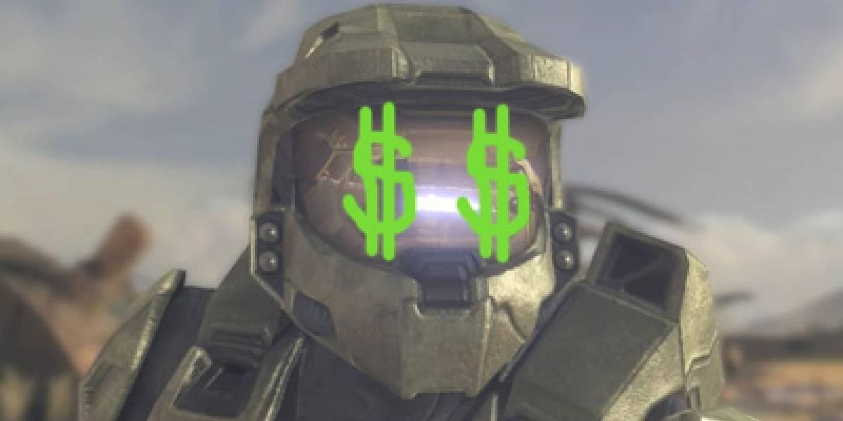 Halo: Reach hace USD$200 millones en un día