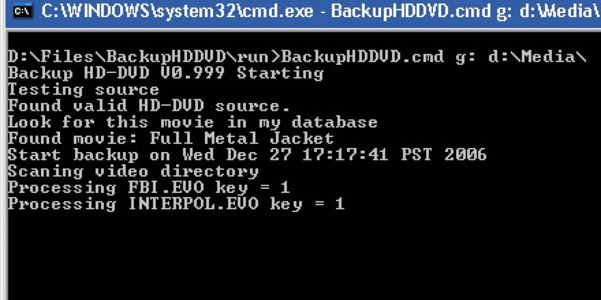 BackupHDDVD 1.0: Si quieres ripear discos Blu-Ray y HD-DVD