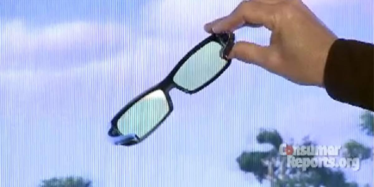 Televisores 3D de Panasonic serían mejores que los de Samsung
