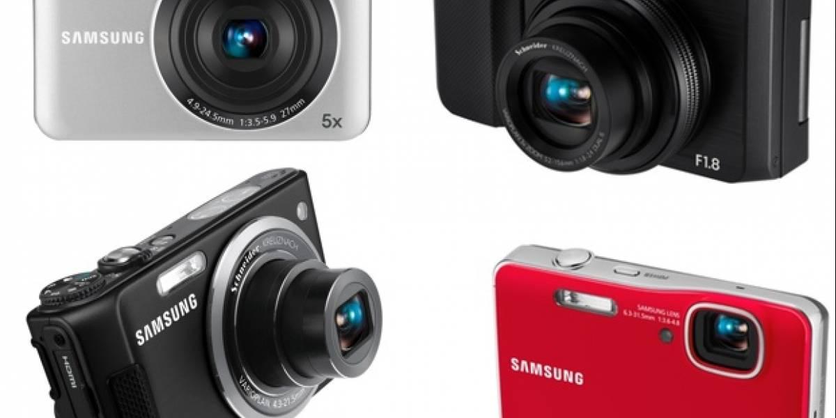 PMA 2010: Samsung anuncia 4 nuevas cámaras compactas (TL500, TL350, AQ100 y SL605)