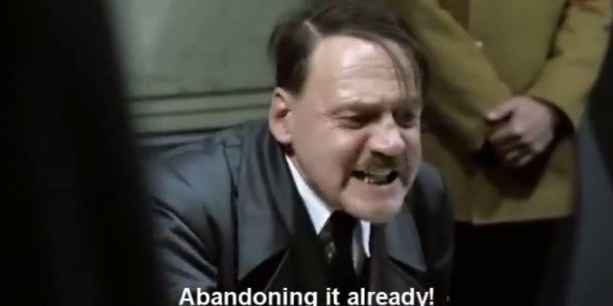 Video: Hitler se entera de la muerte de webOS (en inglés)
