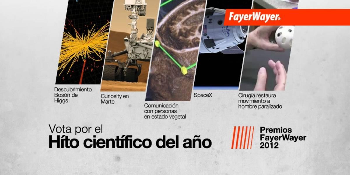 Pila de Oro: Vota por el Hito Científico del Año 2012