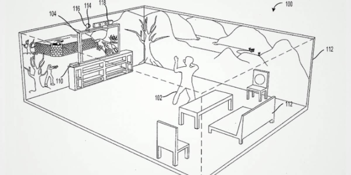 """Microsoft solicita patente de una """"holocubierta"""" para el living"""