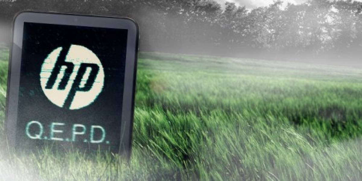 HP desecha la TouchPad y los teléfonos con webOS, poniendo en riesgo la plataforma