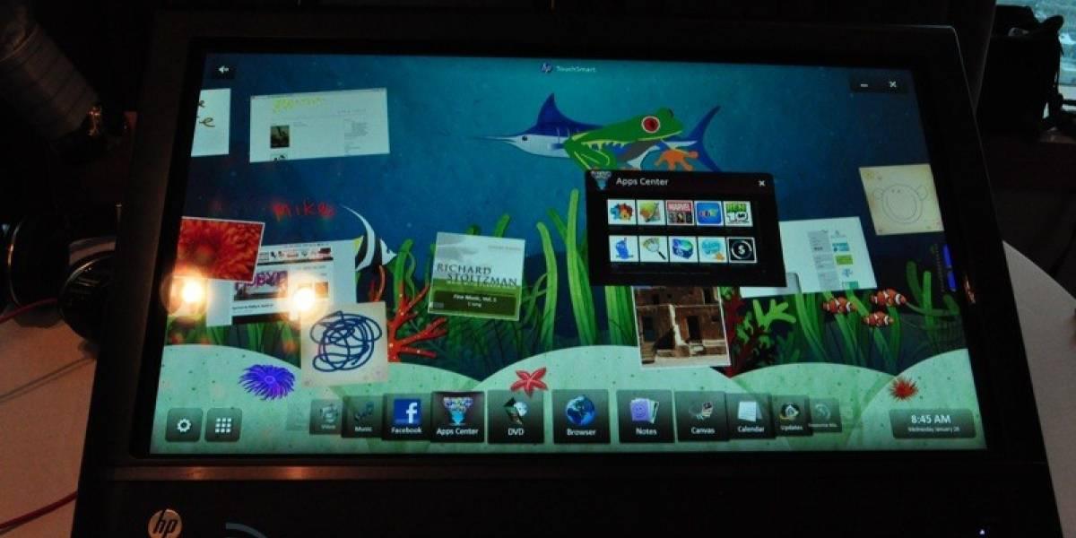 Pantallas inclinables, la clave de los nuevos HP TouchSmart
