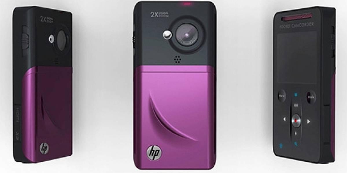 PMA 2010: HP lanza su cámara de bolsillo V1020h (720p)