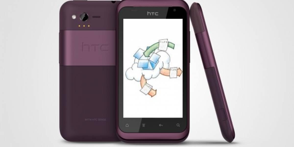 HTC firma un acuerdo con Dropbox para que los usuarios tengan 3GB de espacio extra