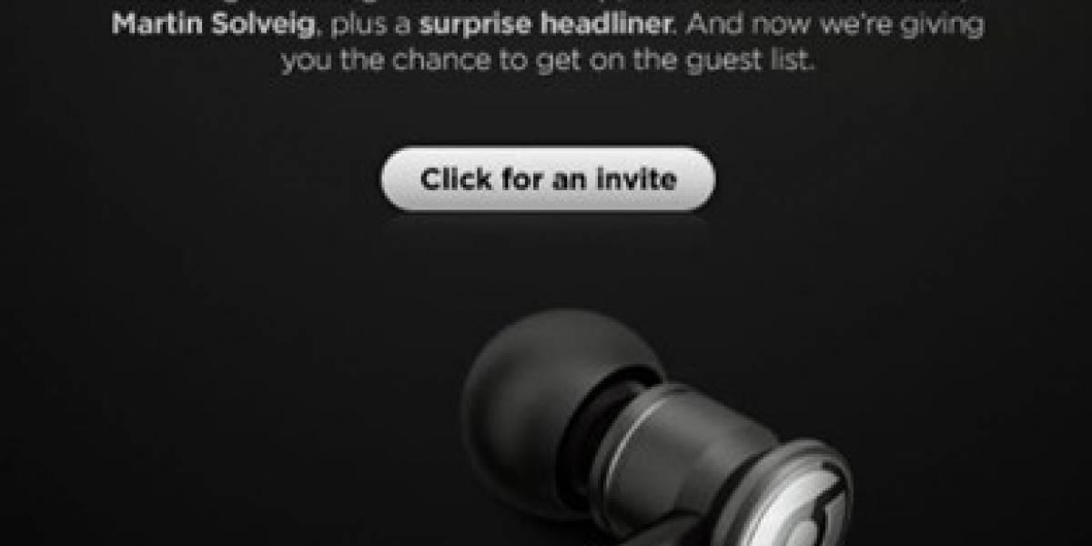 HTC presentará equipos con Beats electronics en un evento en Londres el 06.10