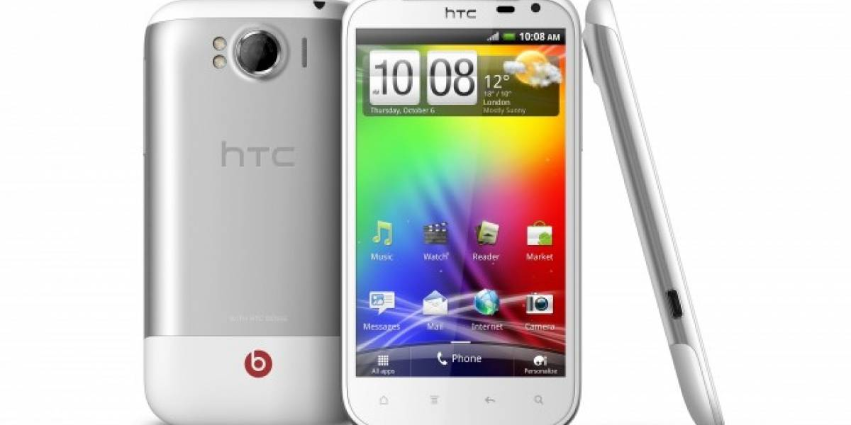 HTC lanza el Sensation XL con Audio Beats