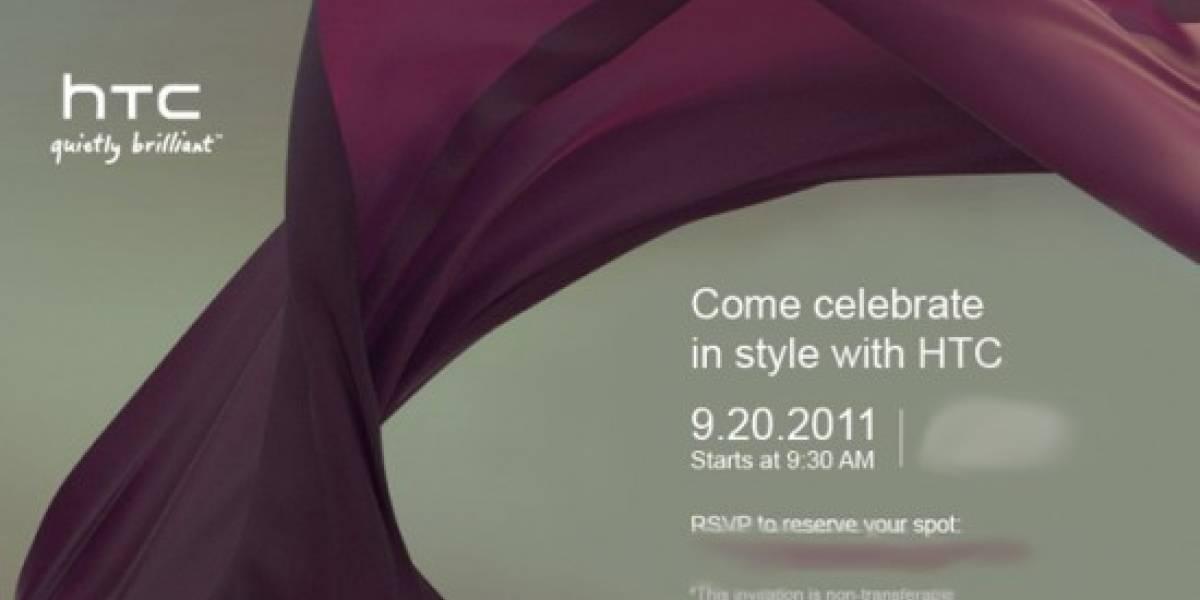 HTC podría presentar el Bliss o el Vigor el próximo 20 de Septiembre