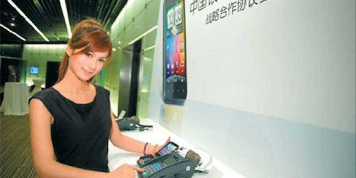 Primer móvil HTC con NFC se lanza el próximo mes en China