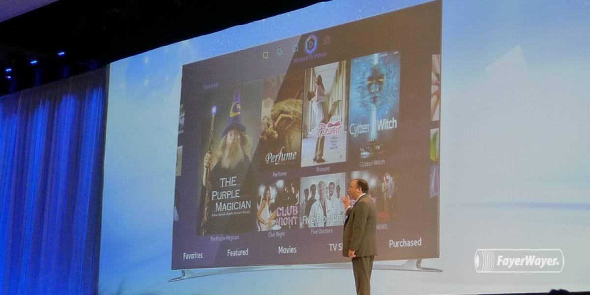 "CES 2013: Samsung renueva la interfaz de su ""Smart Hub"""