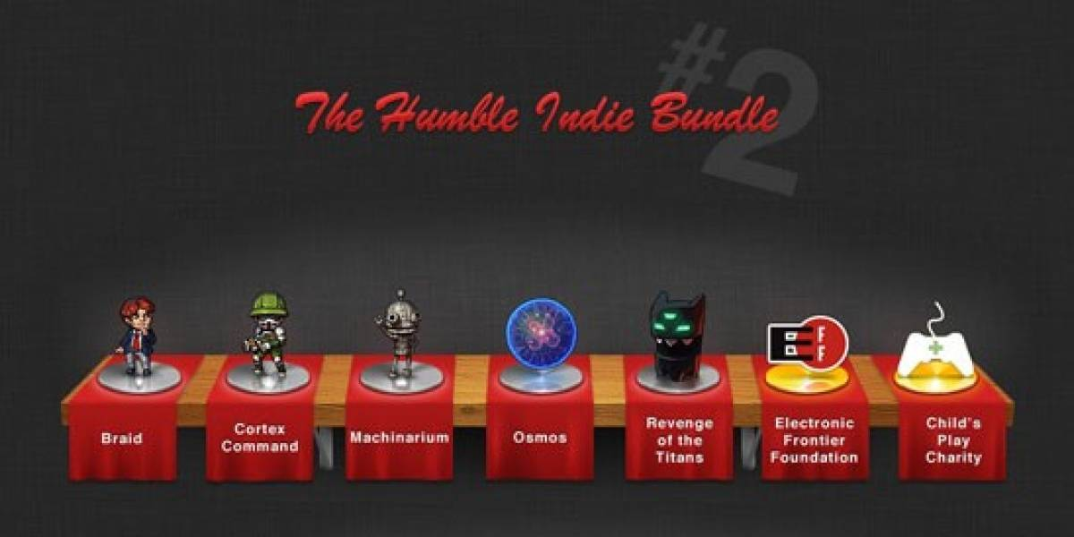 El Humble Indie Bundle 2 recaudó más de 1.8 millones de dólares