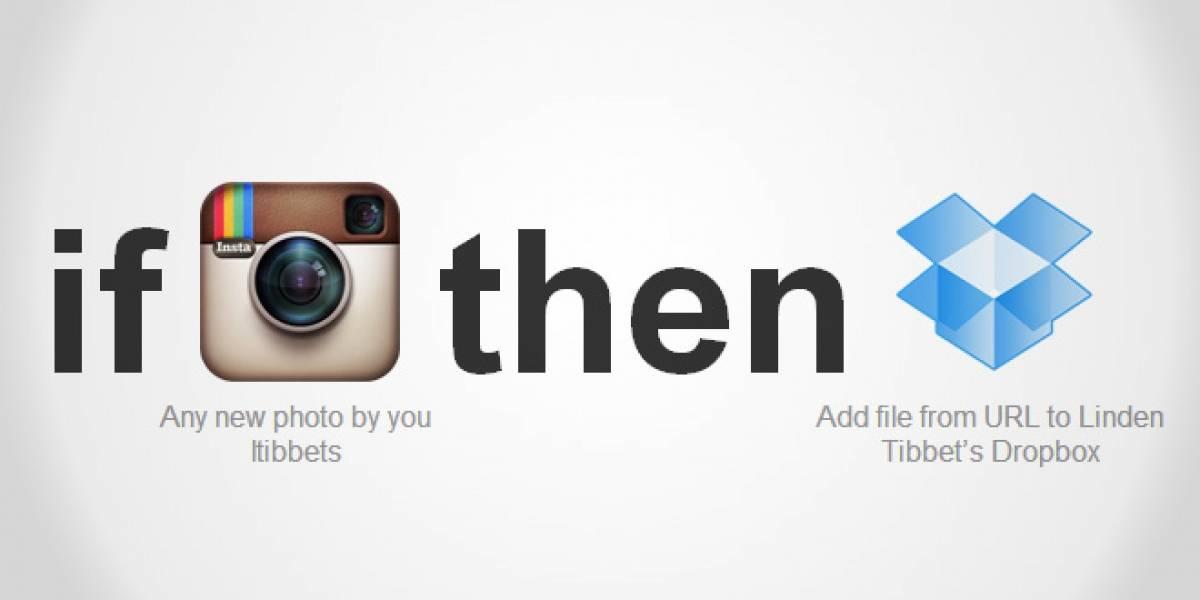 IFTTT: Coordina tu vida en línea de forma rápida y sencilla