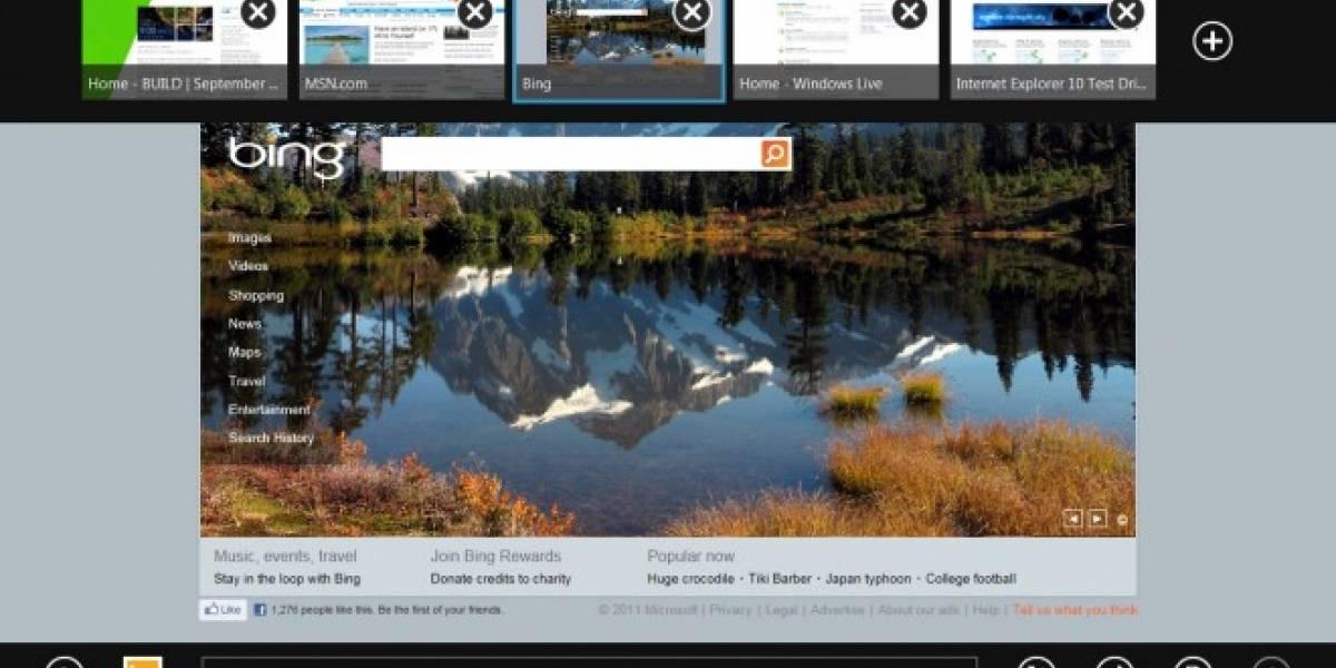 En su versión Metro, Internet Explorer 10 no soportará Flash ni otros plug-ins